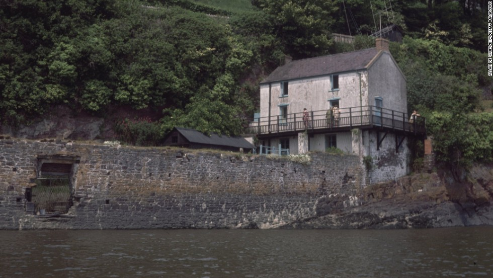 "Dylan's home, the Boathouse at Laugharne (seen here in 1969), is now a <a href=""http://www.dylanthomasboathouse.com/"" target=""_blank"">museum dedicated to his life and work</a>."