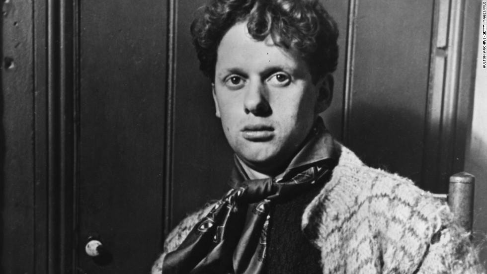 Dylan Thomas was born in Swansea, south Wales, in October 1914 -- his centenary is being celebrated with a series of special events in his hometown and around the world.
