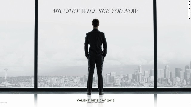 "Poster of Focus Features' ""Fifty Shades of Grey"" film."