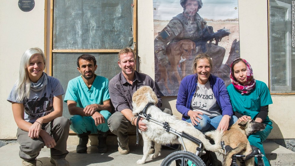 Nowzad Dogs has a shelter and clinic in Kabul, Afghanistan, that includes several trained veterinarians. The clinic spays or neuters street dogs and cats. It also vaccinates them and gives them microchips.
