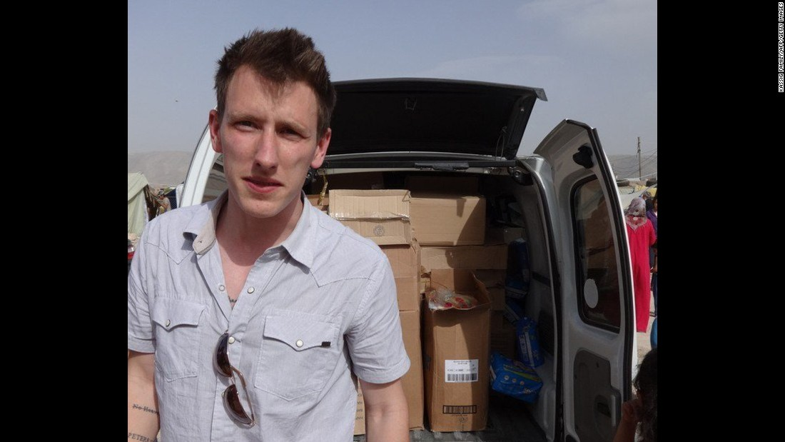 "<a href=""http://cnn.com/2014/11/17/world/meast/isis-peter-kassig-remembered/"">Peter Kassig</a>, who served briefly as a U.S. Army Ranger, was working as a humanitarian worker in Syria when he was kidnapped on October 1, 2013 en route to deliver food and medical supplies. The 26-year old was confirmed dead after ISIS posted a video on November 16, 2014."