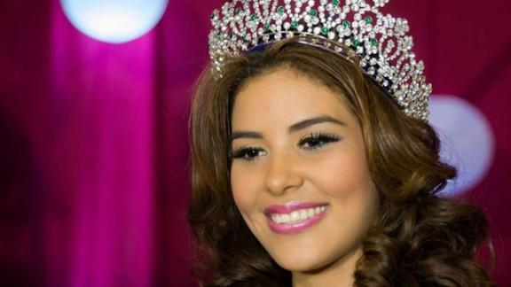 This recent undated file photo shows María José Alvarado Muñoz, Miss Honduras World 2014, who police in Tegucigalpa have confirmed is missing November 16, 2014.