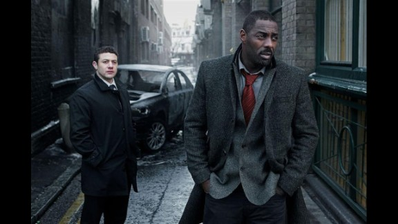 """""""Luther"""": With official word that a fourth season of this addictive British crime drama will arrive in the UK sometime in 2015, it's time to revisit  the first three seasons. Idris Elba, right, makes his mark in the starring role of morally complex detective John Luther."""