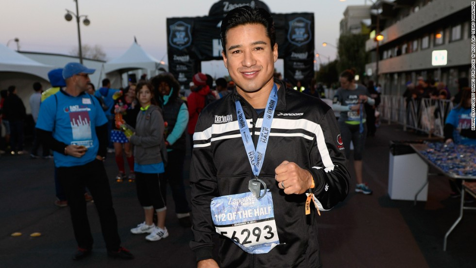 Mario Lopez attends the Rock 'n' Roll Running Weekend on November 16 in Las Vegas, Nevada.