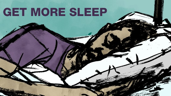 Seven to eight hours a night is ideal for the body to restore itself. Patients in Bredesen's study who had trouble staying asleep got help from melatonin supplements or tryptophan, a chemical you likely know is found in turkey.