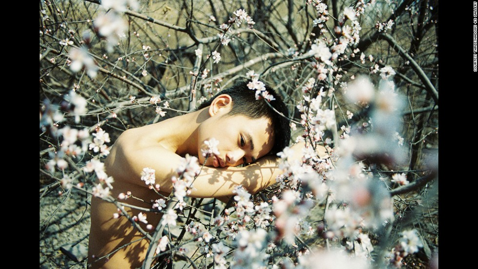 <strong><em>Untitled by Ren Hang, 2010</strong></em><br /><br />Elsewhere, ThreeShadows +3 Gallery exhibited works from 27-year-old Beijing photographer Ren Hang, whose unrepentantly erotic images have been banned by galleries in his home country. (ThreeShadows +3's exhibitions also marked China's first year participating in Paris Photo.)