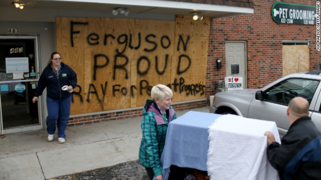 Jones: 'Low trust' for Ferguson law enforcement