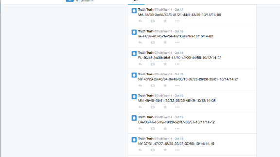 Republicans used accounts like these to communicate during the last election.