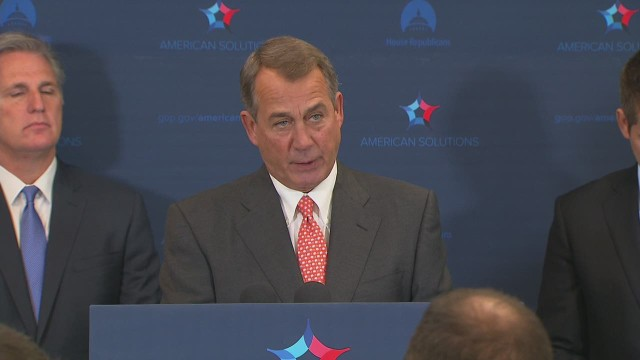 Boehner advises passage of Keystone