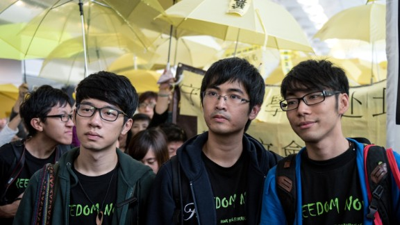 Student leaders attempted to fly to Beijing to deliver a message to the Chinese government on Saturday, November 15. They were denied boarding after being informed that their entry permits were invalid.