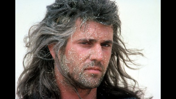 """Before he was known for getting mad, Mel Gibson's fame from the """"Mad Max"""" films led him to be named People's first sexiest man alive in 1985."""