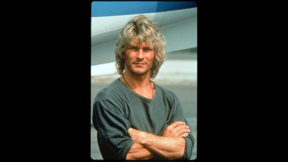 """""""Dirty Dancing"""" made him a big star, but the late Patrick Swayze was still riding high in 1991 with """"Point Break"""" when he earned the honor."""