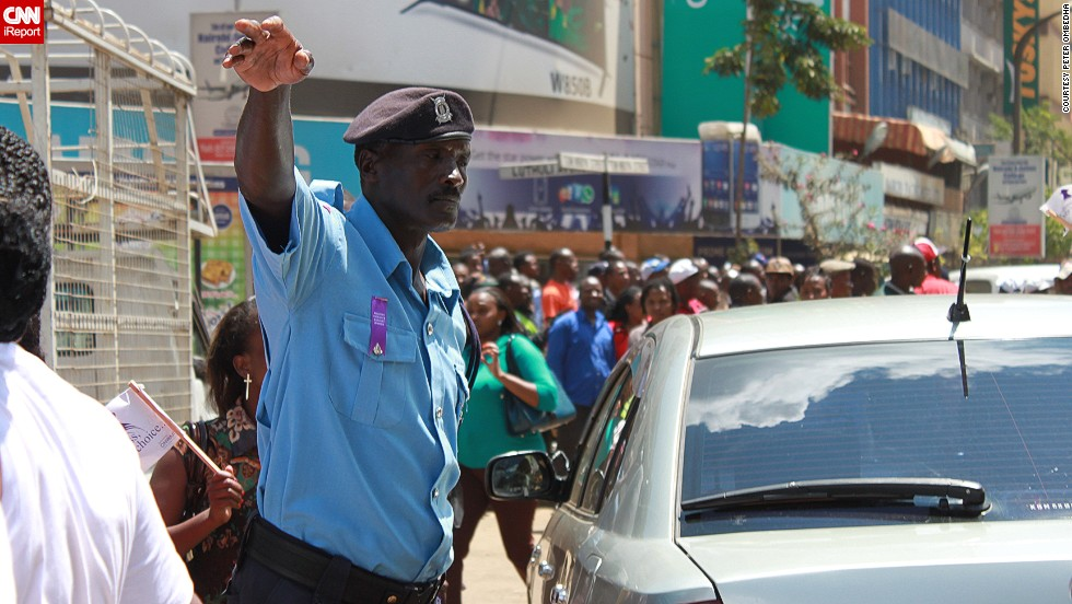 Freelance journalist Peter Ombedha captured these excellent photos from the protests yesterday.