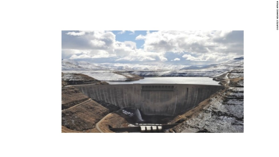 "The Katse Dam wall is 2,200m above sea level in the Maluti Mountains. ""Water temperatures are close to ideal [for trout] for most of the year due to the altitude,"" explains Fred Formanek from Advance Africa."