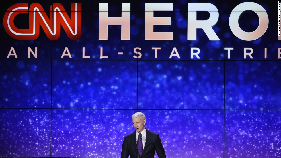 Once again, CNN's Anderson Cooper hosted the event.
