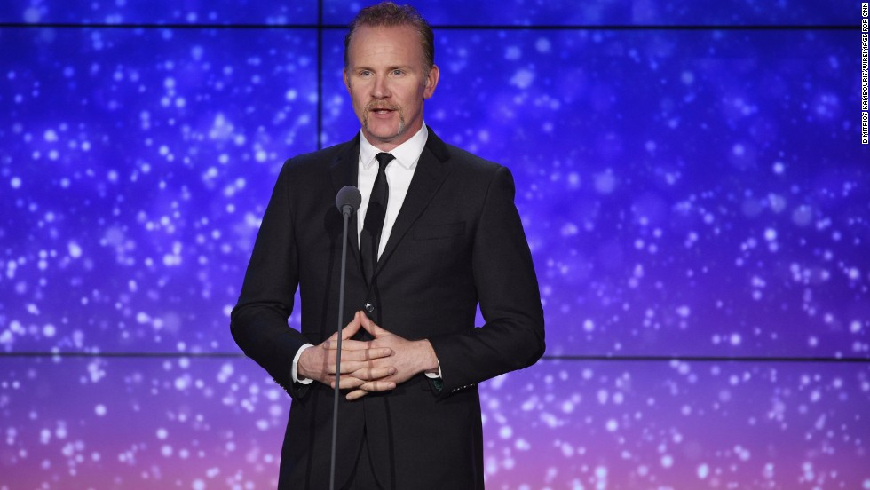 Filmmaker Morgan Spurlock makes an appearance.