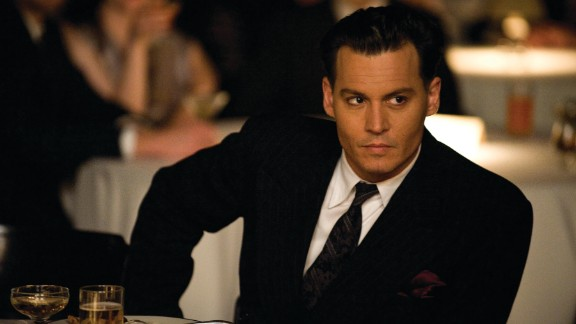 """Johnny Depp (seen here in """"Public Enemies"""") was a suave choice in 2009. It was his second time on the list."""