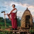 04. The sentinel guarding the plantation. LAVAZZA CALENDAR 2015. Earth Defender - Asnakech Thomas