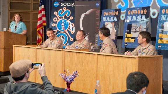 From left, NASA