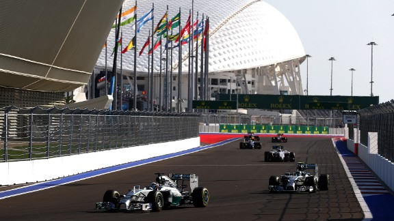 Round 16: Hamilton's hot streak continues in Sochi where he wins the inaugural Russian Grand Prix to help Mercedes wrap up the team championship.