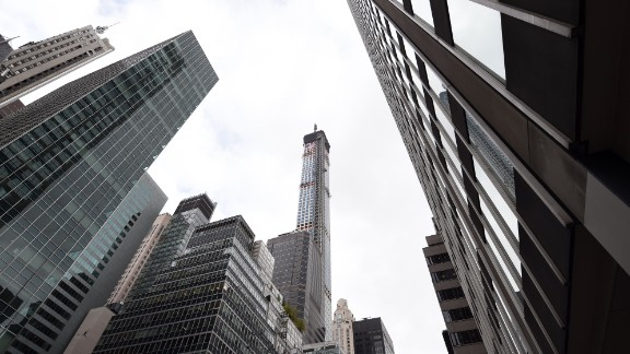 It towers at 1,396 feet tall.