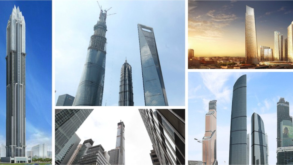 Click through our round up of some of the tallest new buildings that will be completed in 2015.<br />