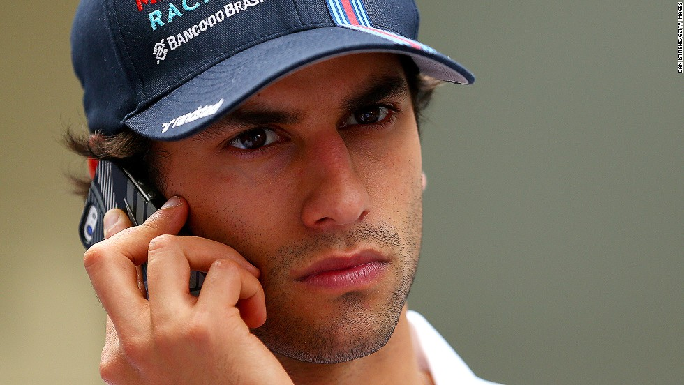 Here's another new face to look out for. Brazilian Felipe Nasr will drive for Sauber, making his F1 debut at the age of 22.