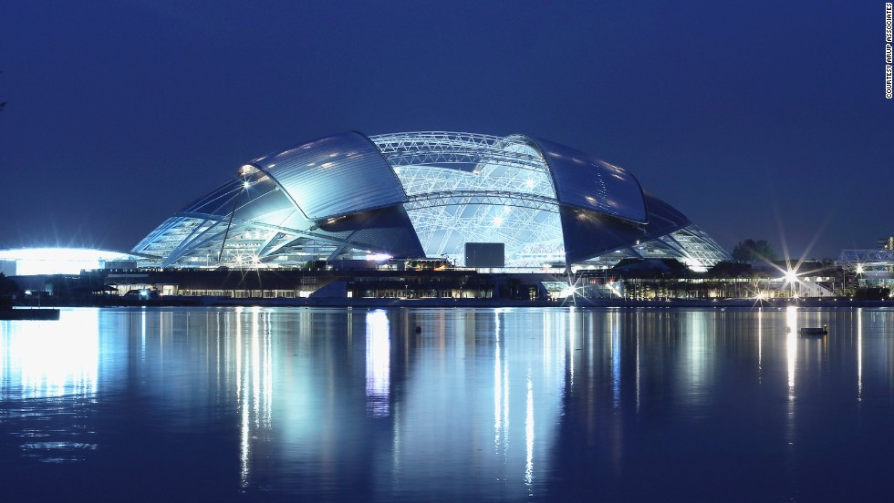 Exceptional Winner Of The Sports Category At This Yearu0026#39;s World Architecture  Festival,