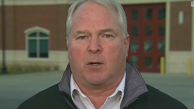 Ferguson chief: 'I can see this through'