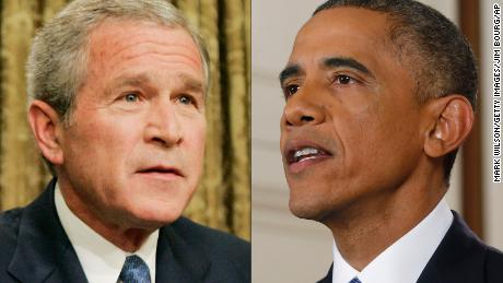 Bush, Obama advisers reflect on year of Trump