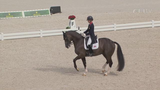 The Queen of the dancing horses