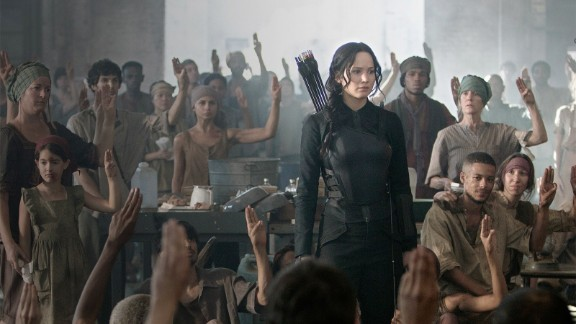 "Jennifer Lawrence took criticism of her casting as rugged, resourceful ""Hunger Games"" heroine Katniss Everdeen in stride. ""I'm a massive fan too, so I get it,"" the actress said in response to fans who thought she had the wrong look for the dystopian character. Some complained that Lawrence is ""too big"" and had the wrong hair color to properly fill the role, but that whining was quickly snuffed out by the positive reaction from fans, critics and the box office."