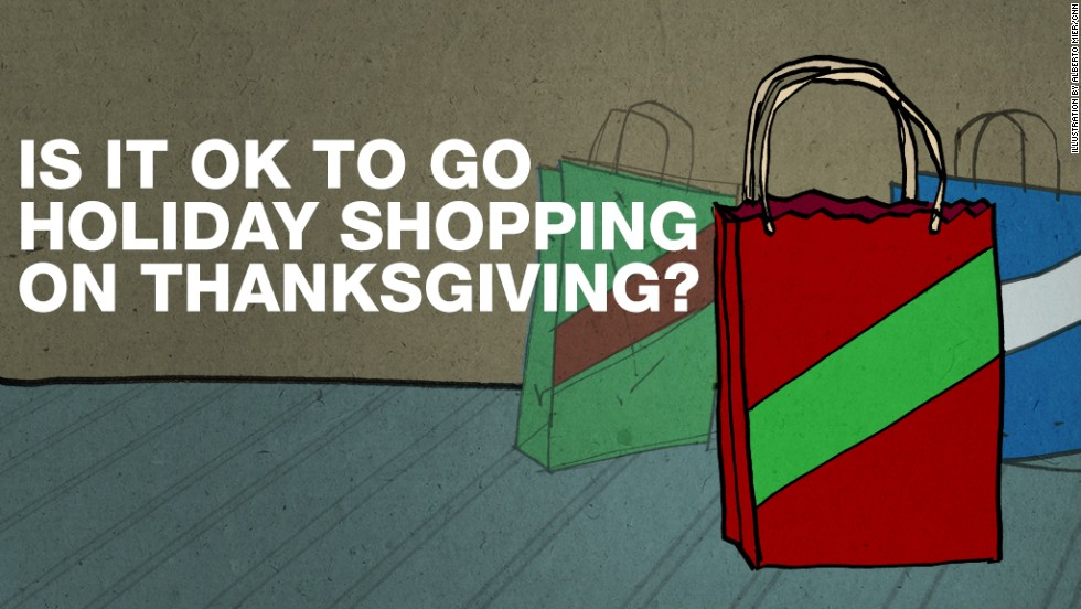 "<strong>Some say: </strong>Absolutely not! Despite what <a href=""http://www.theblackfriday.com/stores-opening-on-thanksgiving.php"" target=""_blank"">Macy's, Best Buy, Target and Walmart</a> say, Thanksgiving Day is NOT for shopping. <strong>Then again:</strong> Why not get a jump on those Black Friday crowds? By Thanksgiving night, we're all sick of our relatives anyway."