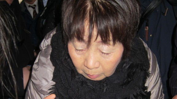 Picture taken on March 13, 2014 shows 67-year-old Chisako Kakehi, who is suspected of killing her previous husband.