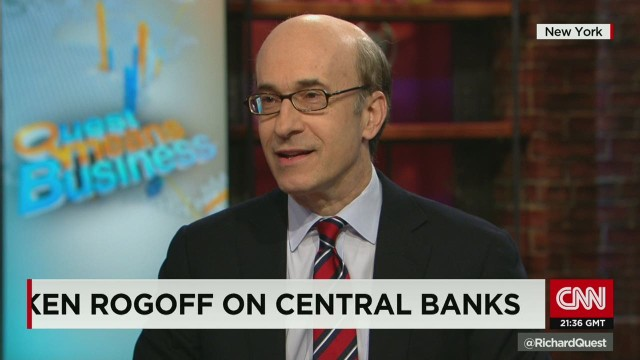 Ken Rogoff on ECB's quantitative easing