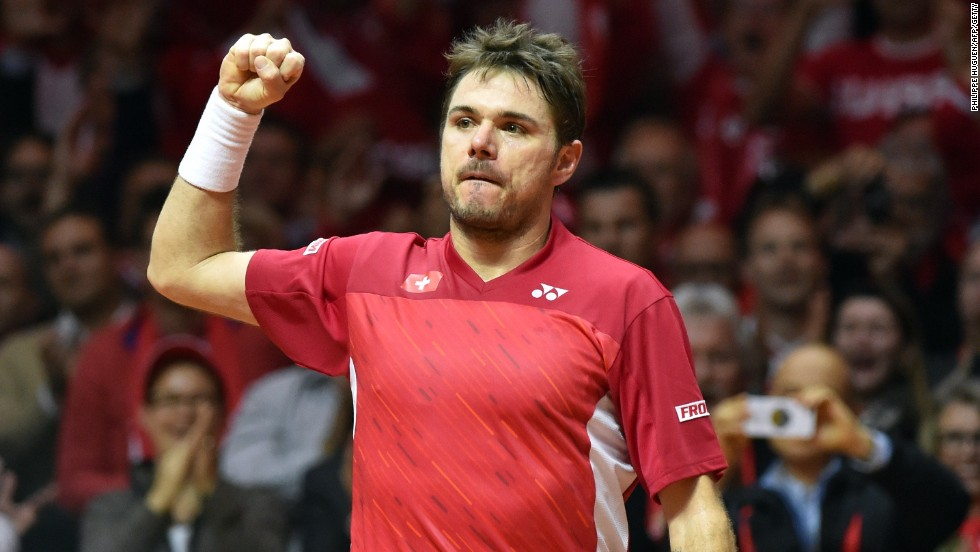 Australian Open champion Wawrinka had put up a superb performance against Jo-Wilfried Tsonga to put the Swiss 1-0 up in Lille.