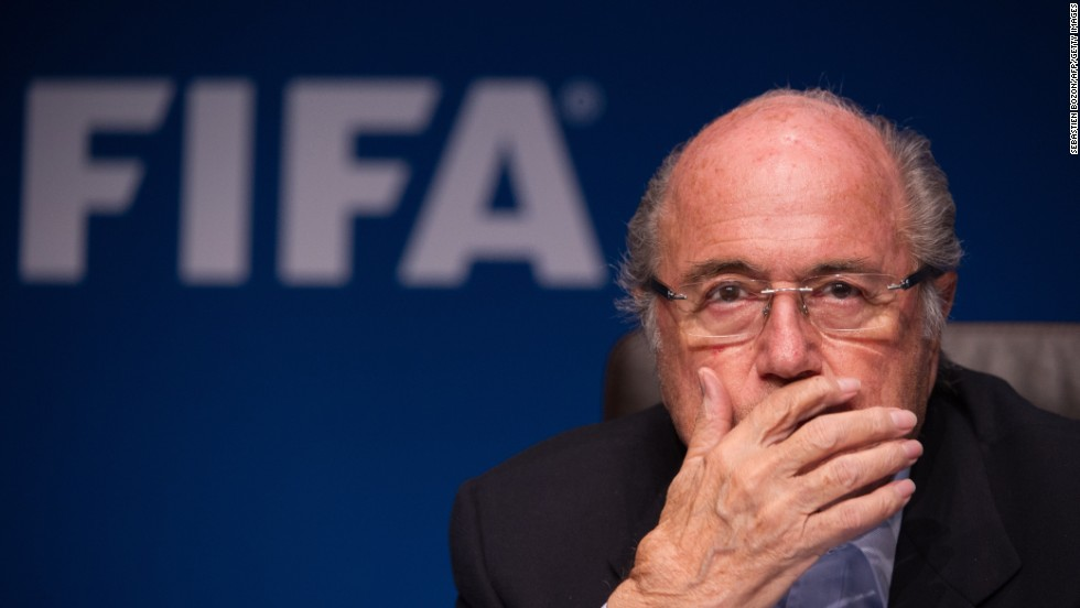 The Swiss has had to fend off allegations of corruption relating to the bidding process for the 2018 World Cup, awarded to Russia, and the 2022 installment, given to Qatar. U.S. lawyer Michael Garcia was enlisted to investigate but quit his role after objecting to the way his report had been summarized by Hans-Joachim Eckert -- the organization's independent ethics adjudicator.