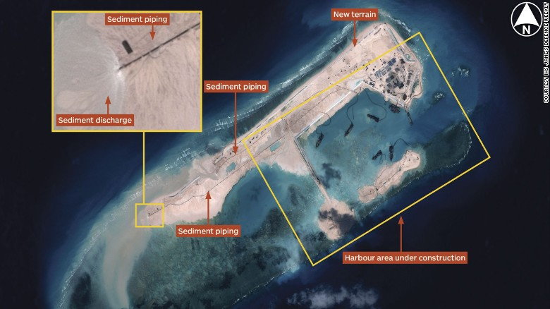 Chinese official: U.S. playing up South China Sea issue - CNN