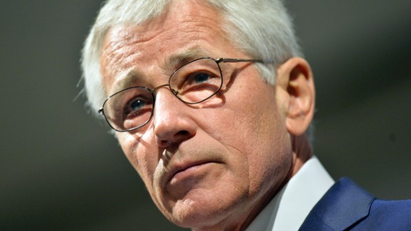 CHICAGO, IL - MAY 6:  U.S. Secretary of Defense Chuck Hagel speaks at an event hosted by the Chicago Council on Global Affairs and the University of Chicago Institute of Politics at the Fairmont Hotel on May 6, 2014 in Chicago, Illinois. Hagel