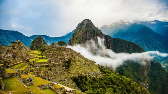 "Namita Azad hiked through misty Machu Picchu, Peru, on a visit back in August. ""As the minutes went by, the mist slowly rose and the sun started seeping through, giving it a magical feel,"" she said."