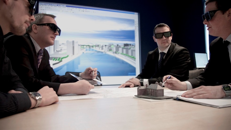 A business conference can take in virtual tours in a range of settings.