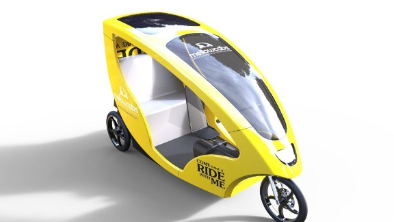 The vehicles will have an estimated daily range of 110 km (68miles) and 35% of the cab