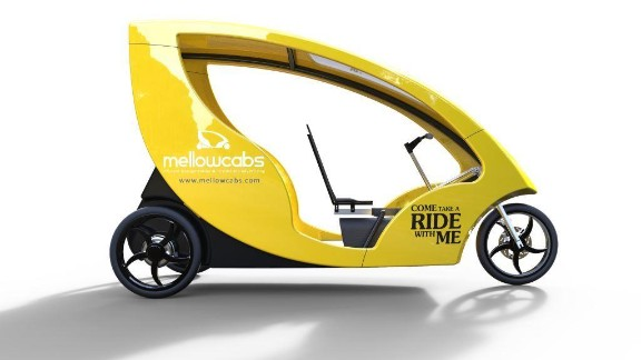 We take a look at some of South Africa's most innovative start ups. These urban electric cabs -- Mellowcabs -- have an estimated daily range of 110 kilometers (68 miles) and are semi-powered by a solar panel on the roof.