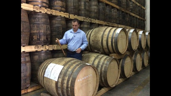 """Two hours north of Cape Town, distiller Jeff Green makes the first single grain whiskey in South Africa, the award winning """"Bain"""