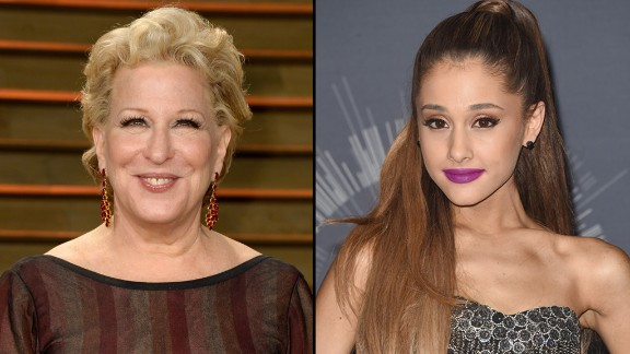 In a recent interview with the Telegraph, Bette Midler criticized Ariana Grande