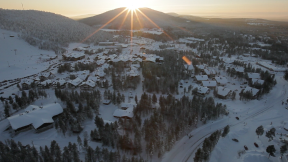 The town of Kittila has seen recent growth due to the success of gold mining in the region.