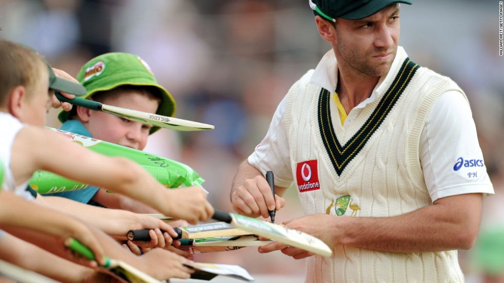 Hughes made 26 Test appearances for Australia, hitting 1535 runs at an average of 32.66.