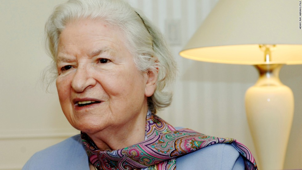 "British crime novelist <a href=""http://www.cnn.com/2014/11/27/showbiz/obit-pd-james/index.html"" target=""_blank"">P.D. James</a> died November 27 at her home in Oxford, England. She was 94."