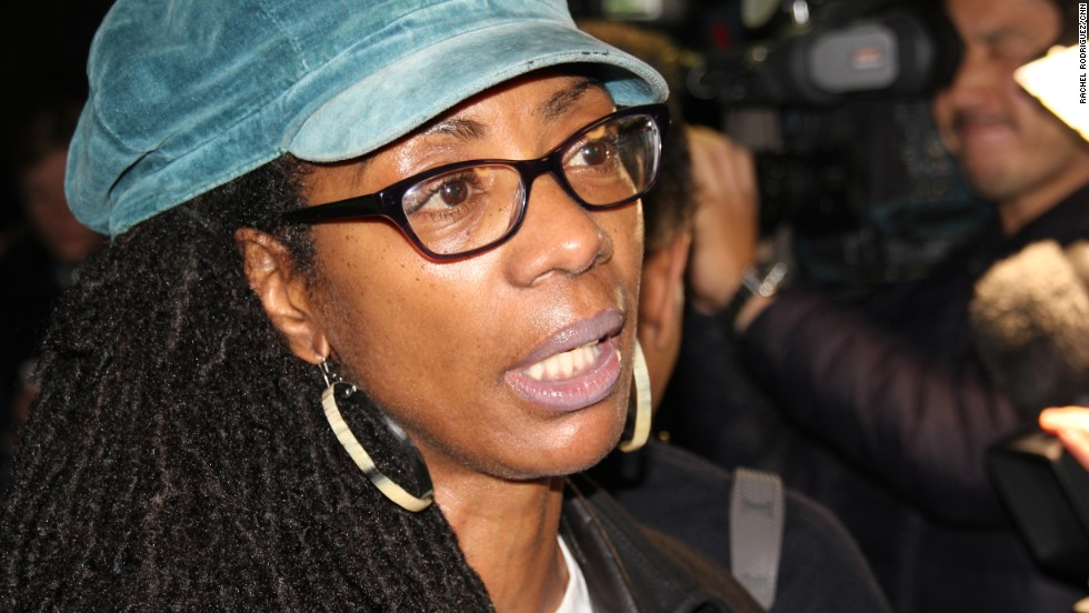 Marcia Rigg, whose brother died in police custody in London in 2008, said that while she did not condone the kind of looting and arson attacks seen in Ferguson, she understood the frustration people felt when their loved ones were killed.