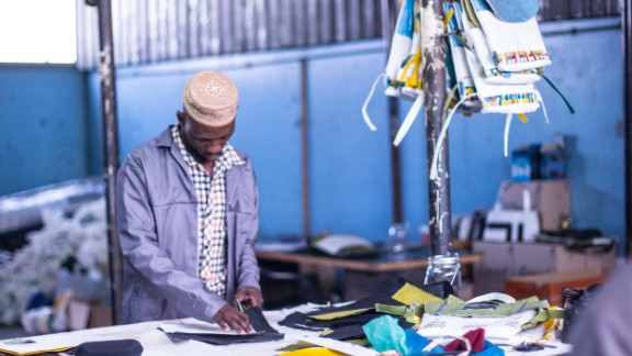 """Due to the success of the startup, the pair are already making plans to enlarge their workforce to 20 people next year. While both are eager to continue growing as a company, Ngwane explains how becoming a leader at such a young age was daunting at first. """"Being that leader in the factory space, we are working with women and men that are much older. In our culture, respect is a very important thing,"""" she says. """"From the onset they also established the role we played as the owners of the company and to a certain extent, not only should we respect them but they should respect us and our wishes."""""""
